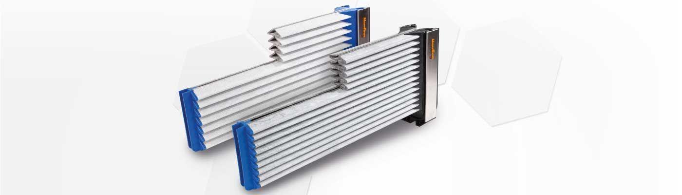 Slinutá filtračná lamela Herding® - výhody