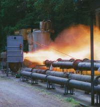 Explozivní zkouška / test zařízení na testovací dráze